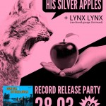 record release party poster